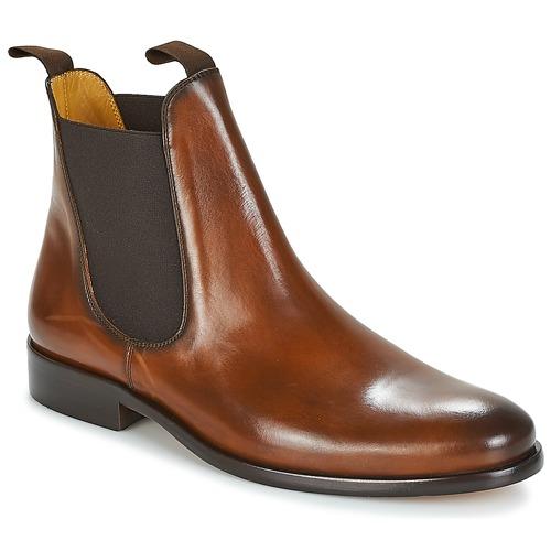 kengät Miehet Bootsit Brett & Sons BERNARD Cognac