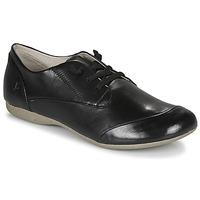 kengät Naiset Derby-kengät Josef Seibel FIONA 01 Musta