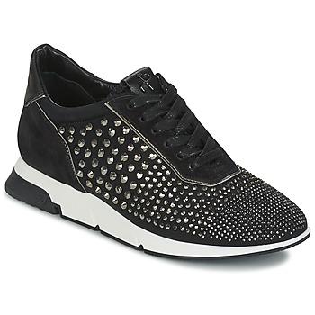 kengät Naiset Matalavartiset tennarit Luciano Barachini SOHO Musta