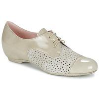 kengät Naiset Derby-kengät Pitillos CLETTE ECRU