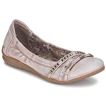 kengät Naiset Balleriinat Mustang IVERO Pink