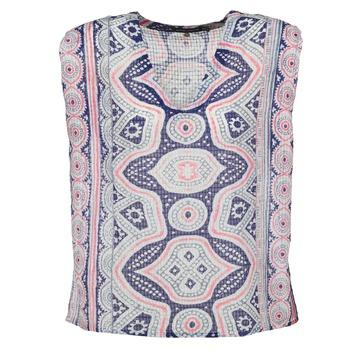 vaatteet Naiset Topit / Puserot Antik Batik JAGGA Blue / Monivärinen