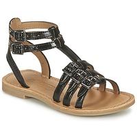 kengät Tytöt Sandaalit ja avokkaat Shwik LAZAR BUCKLE Black