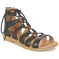 kengät Tytöt Sandaalit ja avokkaat Shwik LAZAR HI LACE Black