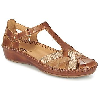 kengät Naiset Sandaalit ja avokkaat Pikolinos PUERTO VALLARTA 655 CAMEL