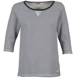 vaatteet Naiset Svetari Napapijri BOISSERON Laivastonsininen / White