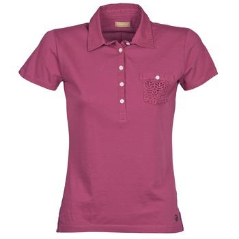 vaatteet Naiset Lyhythihainen poolopaita Napapijri EZE Pink