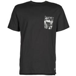 vaatteet Miehet Lyhythihainen t-paita DC Shoes WOODGLEN Black