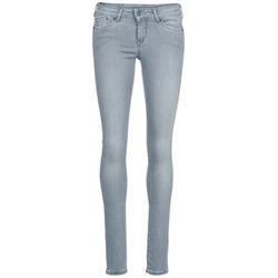 vaatteet Naiset Slim-farkut Pepe jeans PIXIE Grey