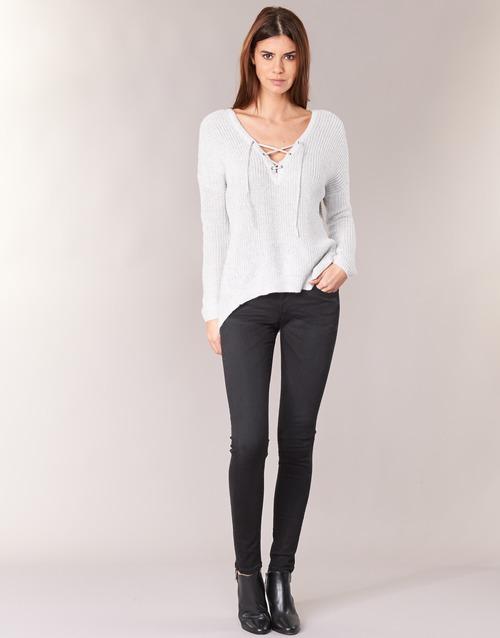 vaatteet Naiset Skinny-farkut Pepe jeans SOHO Black