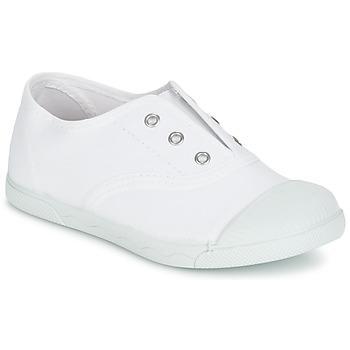 kengät Lapset Matalavartiset tennarit Citrouille et Compagnie RIVIALELLE White
