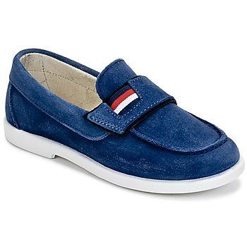 kengät Pojat Mokkasiinit Citrouille et Compagnie LILMOUSSE Blue / Laivastonsininen