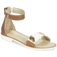 kengät Tytöt Sandaalit ja avokkaat Citrouille et Compagnie MINIMAZA CAMEL / DORE