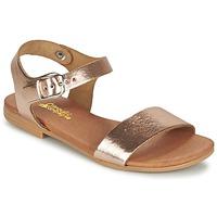 kengät Tytöt Sandaalit ja avokkaat Citrouille et Compagnie JOUBI Cuivré
