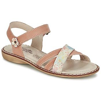kengät Tytöt Sandaalit ja avokkaat Citrouille et Compagnie JANDOLI Nude
