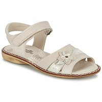 kengät Tytöt Sandaalit ja avokkaat Citrouille et Compagnie ANDALIA BEIGE