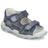 kengät Pojat Sandaalit ja avokkaat Citrouille et Compagnie RAMTIGA Blue