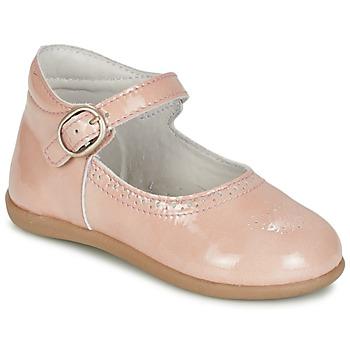 kengät Tytöt Balleriinat Citrouille et Compagnie BOUJBOUJ Pink