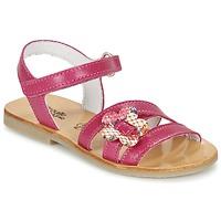 kengät Tytöt Sandaalit ja avokkaat Citrouille et Compagnie CHOUPINETTE Fuksia