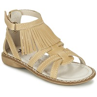 kengät Tytöt Sandaalit ja avokkaat Citrouille et Compagnie CONQUITA BEIGE