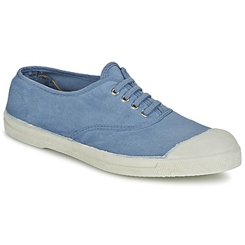 kengät Naiset Matalavartiset tennarit Bensimon TENNIS LACET Blue