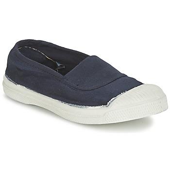 kengät Lapset Matalavartiset tennarit Bensimon TENNIS ELASTIQUE Laivastonsininen