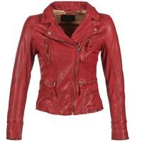vaatteet Naiset Nahkatakit / Tekonahkatakit Oakwood 60861 Red