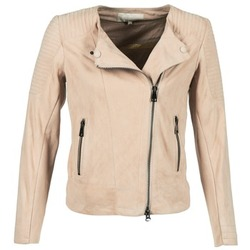 vaatteet Naiset Nahkatakit / Tekonahkatakit Oakwood 61903 Pink / Clair