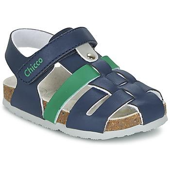 kengät Pojat Sandaalit ja avokkaat Chicco HAMBRO Laivastonsininen