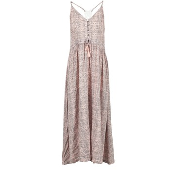 vaatteet Naiset Pitkä mekko Rip Curl SNAKE Pink