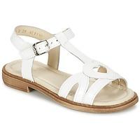 kengät Tytöt Sandaalit ja avokkaat Aster TCHANIA White