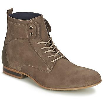 kengät Miehet Bootsit Carlington ESTANO TAUPE