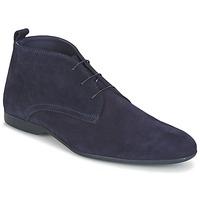 kengät Miehet Bootsit Carlington EONARD Blue