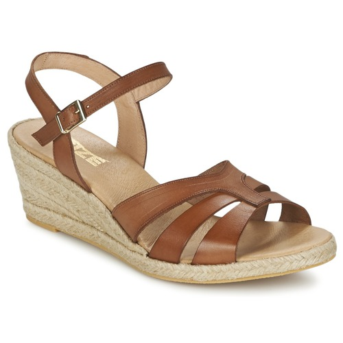 kengät Naiset Sandaalit ja avokkaat So Size ELIZA Brown