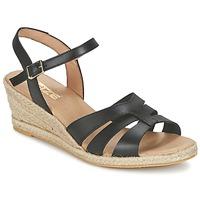 kengät Naiset Sandaalit ja avokkaat So Size ELIZA Black