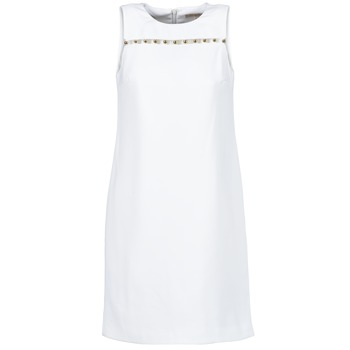 vaatteet Naiset Lyhyt mekko MICHAEL Michael Kors MS68W2L3GZ White