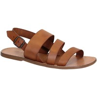 kengät Miehet Sandaalit ja avokkaat Gianluca - L'artigiano Del Cuoio 507 U CUOIO CUOIO Cuoio