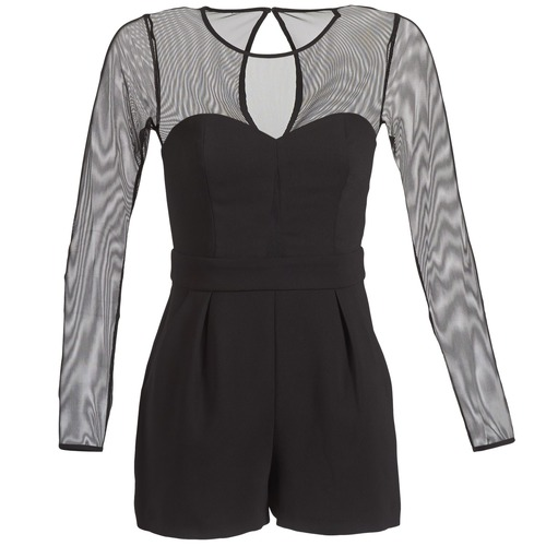 vaatteet Naiset Jumpsuits / Haalarit BCBGeneration CHARLOTTE Musta