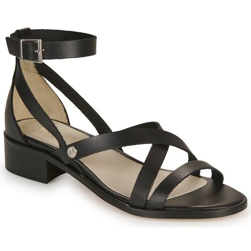 kengät Naiset Sandaalit ja avokkaat Casual Attitude COUTIL Musta