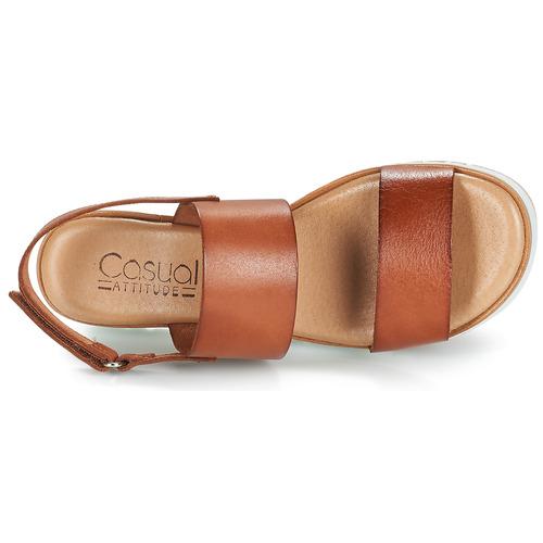 Casual Attitude Fuligule Camel - Ilmainen Toimitus- Kengät Sandaalit Naiset 44