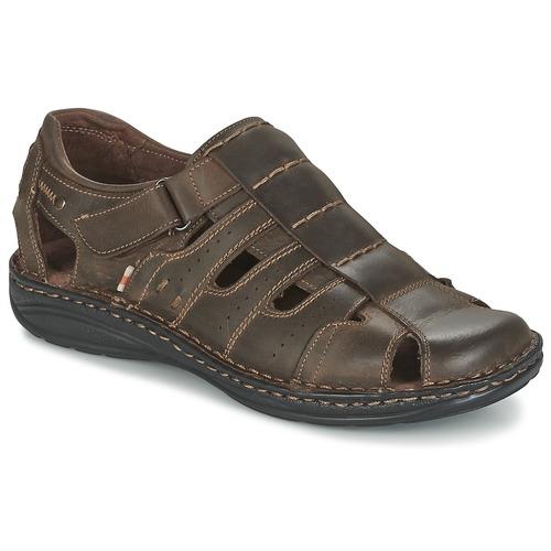 kengät Miehet Sandaalit ja avokkaat Casual Attitude ZIRONDEL Ruskea