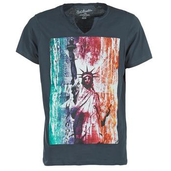 vaatteet Miehet Lyhythihainen t-paita Best Mountain OBAN Laivastonsininen