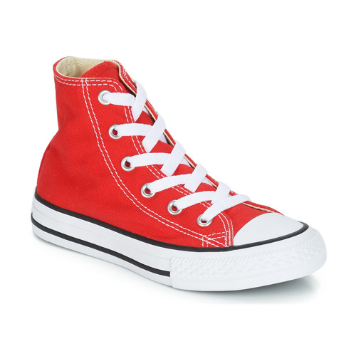 kengät Lapset Korkeavartiset tennarit Converse CHUCK TAYLOR ALL STAR CORE HI Red