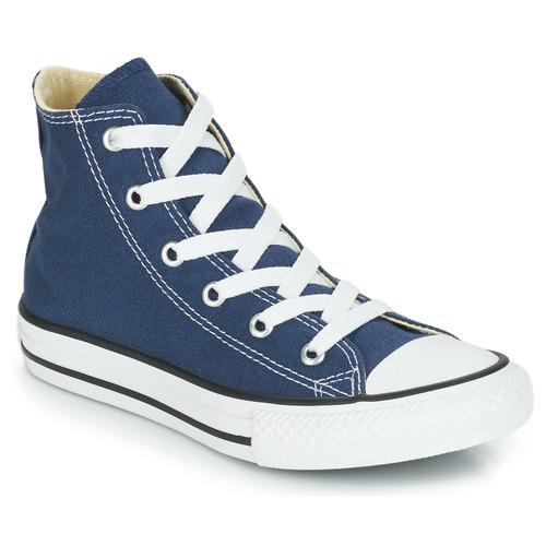kengät Lapset Korkeavartiset tennarit Converse CHUCK TAYLOR ALL STAR CORE HI Laivastonsininen