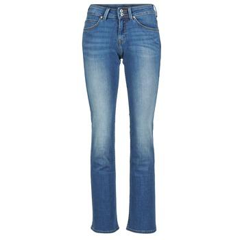 vaatteet Naiset Bootcut-farkut Lee JOLIET Blue