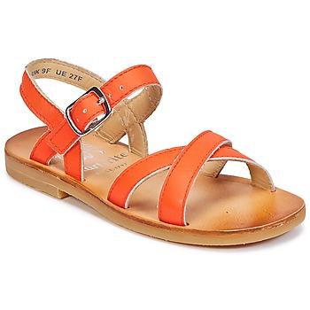 kengät Tytöt Sandaalit ja avokkaat Start Rite NICE II Orange