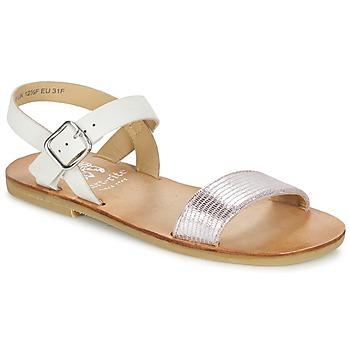 kengät Tytöt Sandaalit ja avokkaat Start Rite FLORA II Pink / White