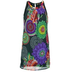 vaatteet Naiset Lyhyt mekko Desigual ESTOLE Monivärinen