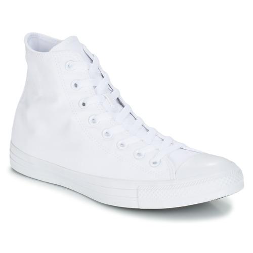 kengät Korkeavartiset tennarit Converse CHUCK TAYLOR ALL STAR MONO HI White