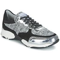 kengät Naiset Matalavartiset tennarit Meline AMAL Black / White / Grey